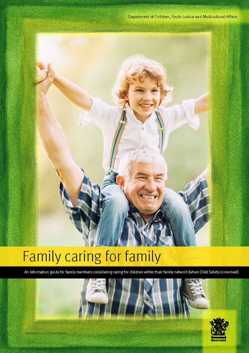 family caring for family info for kinship carers